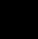 \setcrambond{2pt}{}{} \chemname{\chemfig{HO-[2,0.5,2]?<[7,0.7](-[2,0.5]OH)-[,,,, line width=4pt](-[6,0.5]OH)>[1,0.7](-[6,0.5]OH)-[3,0.7]O-[4]?(-[2,0.3]-[3,0.5]OH)}}{$\alpha$-D-Glucopyranose}